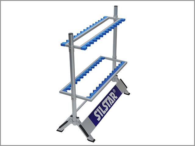 Aluminium rod stand